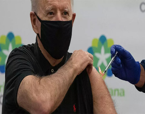 بايدن يتلقى الجرعة الثانية من اللقاح المضاد لكوفيد-19 .. بالفيديو