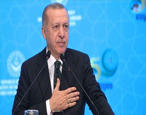 أردوغان: قواتنا تواصل الرد على قصف النظام السوري لجنودنا
