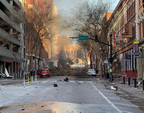 """الشرطة الأمريكية: انفجار مدينة ناشفيل """"متعمد"""" .. بالفيديو"""