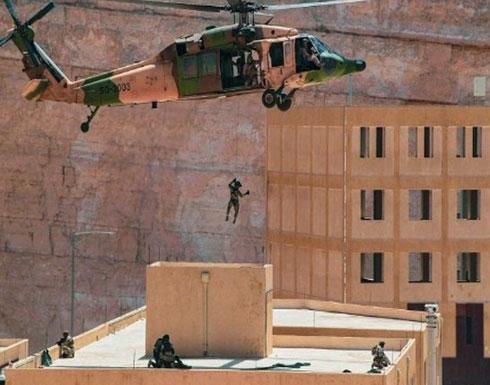 شاهد : التمرين بين القوات البحرية الملكية السعودية والقوات الأردنية