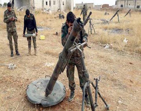 الجيش السوري يوجه ضربات مركزة على المسلحين بريف حلب