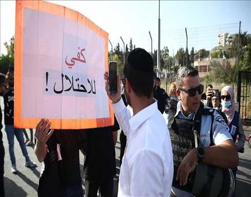 القدس.. صحفيون فلسطينيون يتظاهرون ضد انتهاكات إسرائيل