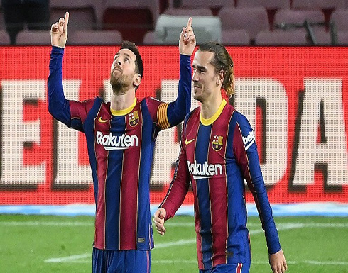 """برشلونة يكتسح ألافيس بخماسية ويستعيد وصافة """"الليغا"""" من غريمه ريال مدريد (فيديو)"""