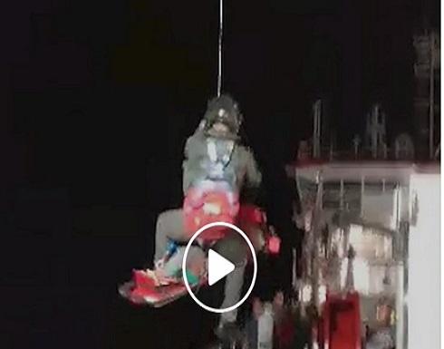 80 ساعة في البحر... غواص ينجو بأعجوبة (فيديو)