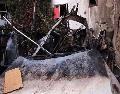 الغارة الأمريكية في كابل تسفر عن 6 قتلى و4 جرحى