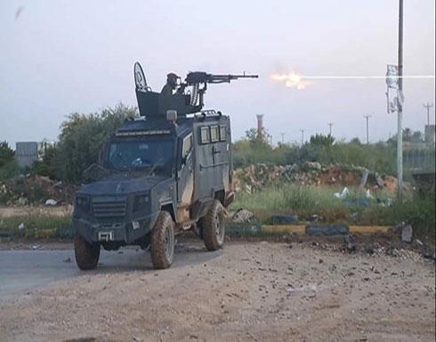 بالفيديو : تجدد الاشتباكات بين الجيش الليبي وتشكيلات الوفاق جنوب طرابلس
