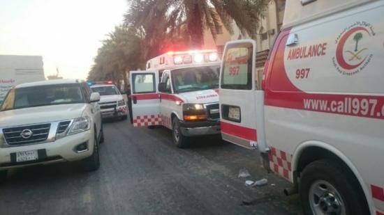 إصابة أردني إثر حريق مركبة في جدة