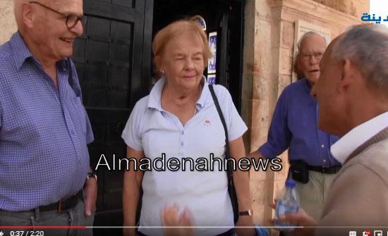 فيديو .. ماذا يقول السياح الاجانب عن المغطس .. لقاء