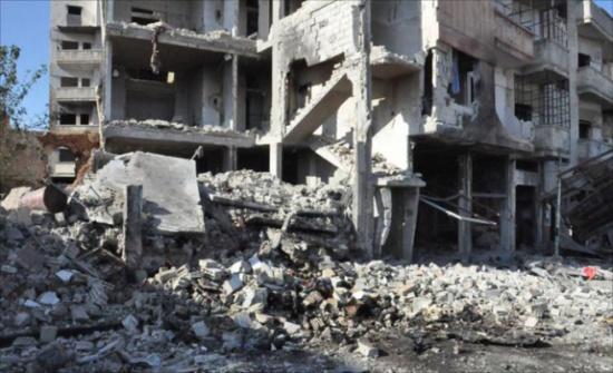 تفجير يؤدي لقتلى بحمص وقصف بريف إدلب
