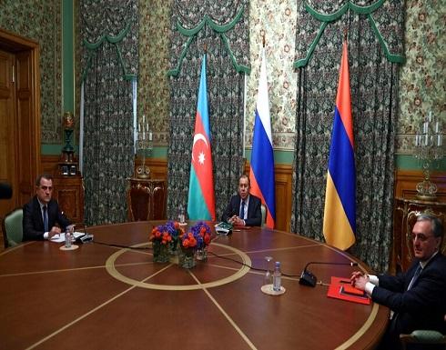 لافروف يجري محادثات هاتفية مع وزيري خارجية أذربيجان وأرمينيا