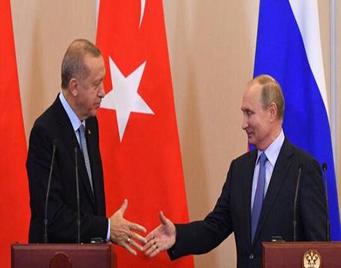 بوتين وأردوغان يشيدان بالتعاون الروسي التركي لإرساء الاستقرار في سوريا