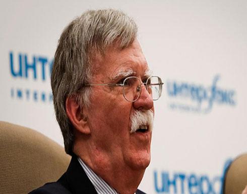 جون بولتون: المحادثات مستمرة مع السعودية بشأن خاشقجي