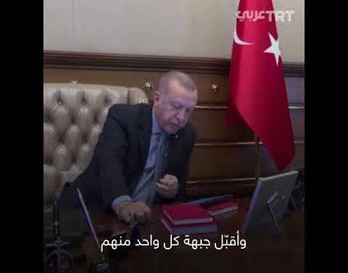 """شاهد : أردوغان يأمر ببدء عملية """"نبع السلام"""""""