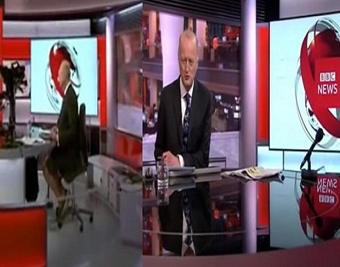 """فيديو.. مذيع """"BBC """" يقدم نشرة الأخبار بـ""""الشورت"""""""