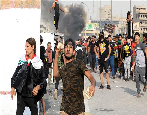 الداخلية العراقية: إصابة 43 عنصر أمن خلال احتجاجات بغداد