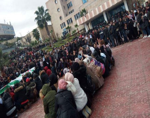 بالفيديو : طلاب جامعة الجزائر يتظاهرون ضد العهدة الخامسة لبوتفليقة