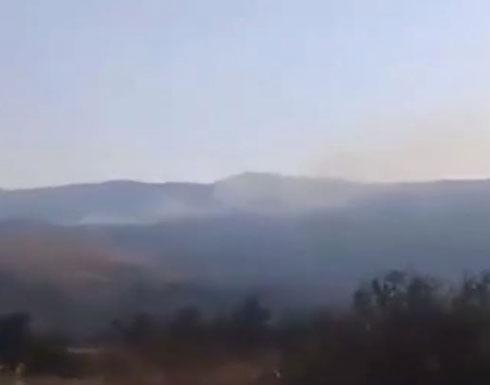 شاهد : انفجار مستودع ذخيرة للجيش السوري بدمشق