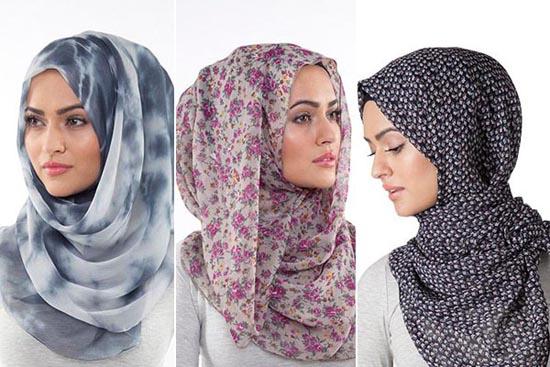 بالصور| لفات حجاب من غير دبادبيس