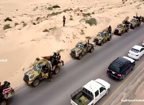 """""""الوفاق"""" تتقدم نحو غريان وتجبر قوات حفتر على التراجع (شاهد)"""