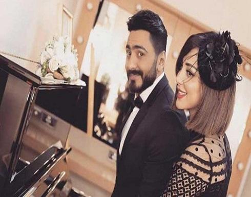 صور: تامر حسني المدرب الخاص بزوجته اليوم