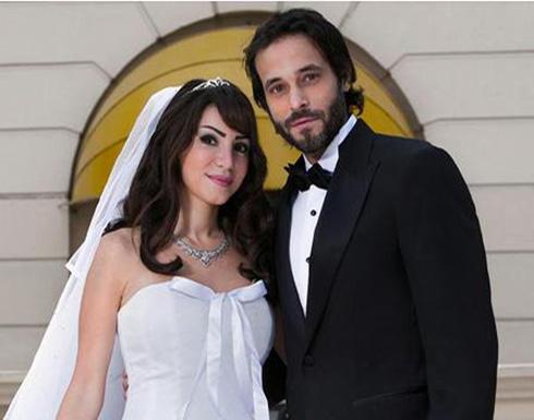 بعشاء رومانسي ورسالة.. أنجي علاء تحتفل بعيد الحب مع زوجها يوسف الشريف «صور»