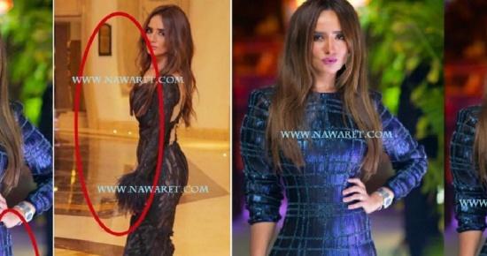 بالصور.. زينة تتعرض للسخرية بسبب الفوتوشوب.. وكيف أنهت الجدل !!
