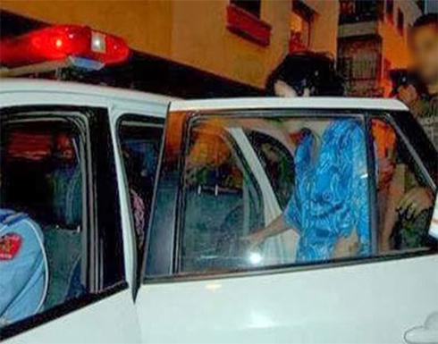ضبط كويتي مع 3 فتيات في وضع تلبس داخل سيارة