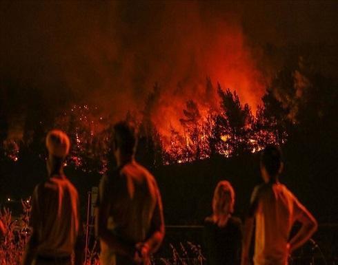 اليونان.. اندلاع حريق ثان في مخيم لطالبي اللجوء