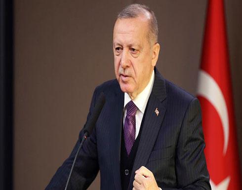 """أردوغان: رفض الجامعة العربية والتعاون الإسلامي لـ""""خطة ترامب"""" تطور جيد"""