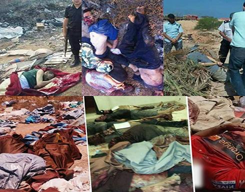 جيش حفتر يصفي عشرات المواطنين ببنغازي ويلقي الجثث بمكبات القمامة