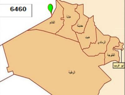 الخريطة العشائرية في محافظة الانبار