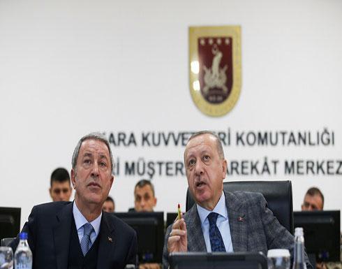 وزير الدفاع التركي: حيدنا 76 عنصرا من الجيش السوري واستهدفنا 54 موقعا بإدلب