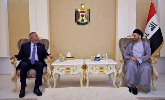 الحكيم يبحث مع السفير الاردني تطورات المشهد السياسي في العراق