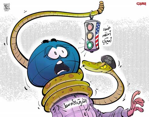 النظام الإيراني يضغط على الشرق الأوسط بضوء أخضر أميركي