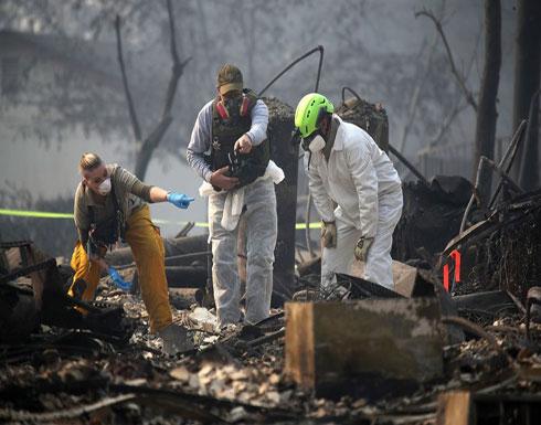 ترامب في كاليفورنيا لمتابعة تصاعد الحرائق وارتفاع المفقودين