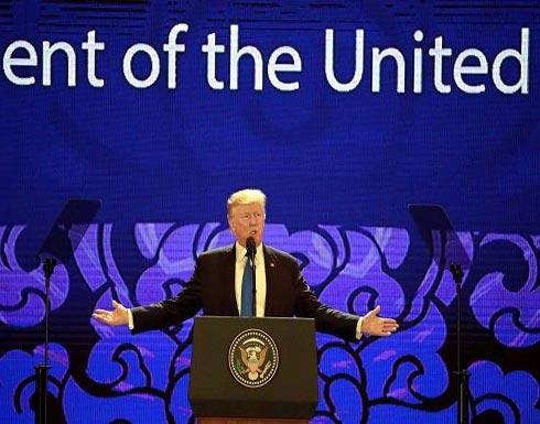 """ترامب: لا يمكن أن ندع """"الدكتاتور المجنون"""" يخوّف العالم"""