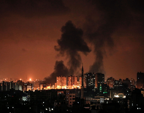 الاحتلال يقصف نقطة طبية جنوب قطاع غزة