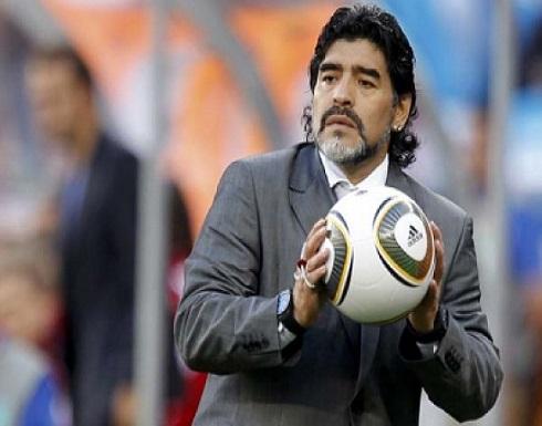 وفاة أسطورة كرة القدم الأرجنتيني دييغو مارادونا عن عمر ناهز 60 عاما