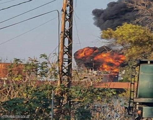 لبنان.. حريق كبير قرب منشآت نفطية في الزهراني