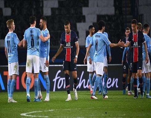 شاهد.. مانشستر سيتي يهزم باريس سان جيرمان ويقترب من نهائي دوري الأبطال