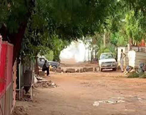 شاهد :  إطلاق كثيف للغاز المسيل للدموع في السودان