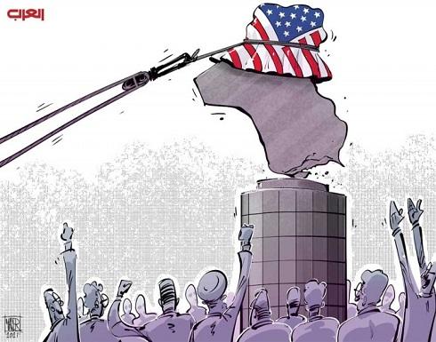 الولايات المتحدة بغزوها للعراق محته وحولته من دولة حديدية لدولة افتراضية