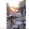 شاهد ..انفجار سيارة مفخخة وسط تكريت
