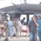 """شاهد .. العاصفة المدارية """"لبان"""" تضرب محافظة المهرة اليمنية"""
