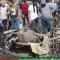 شاهد .. انفجار سيارة مفخخة بادلب السورية