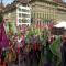"""تظاهرة ضخمة تندد بفضيحة """"الأجور"""" في سويسرا"""