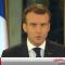 شاهد .. كلمة الرئيس الفرنسي إيمانويل ماكرون حول احتجاجات باريس