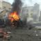 شاهد .. انفجار مفخخة وسط مدينة عفرين