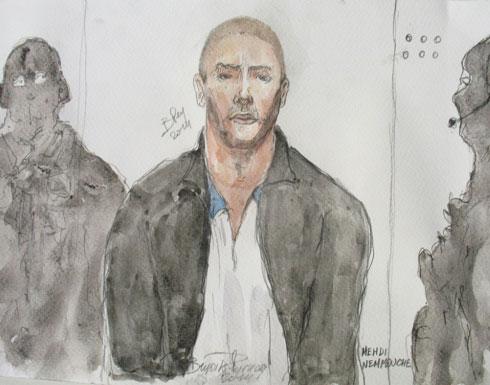 محاكمة مهدي نموش في قضية الهجوم على متحف يهودي في بروكسل