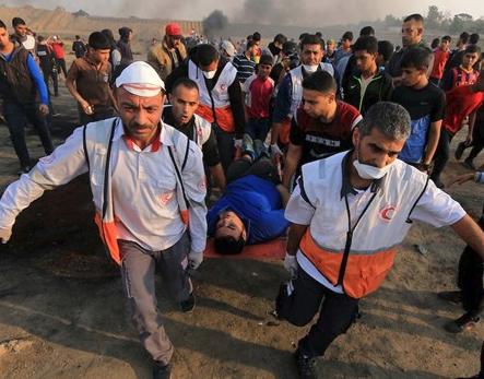 شهيد متأثرا بجراحه شرق غزة